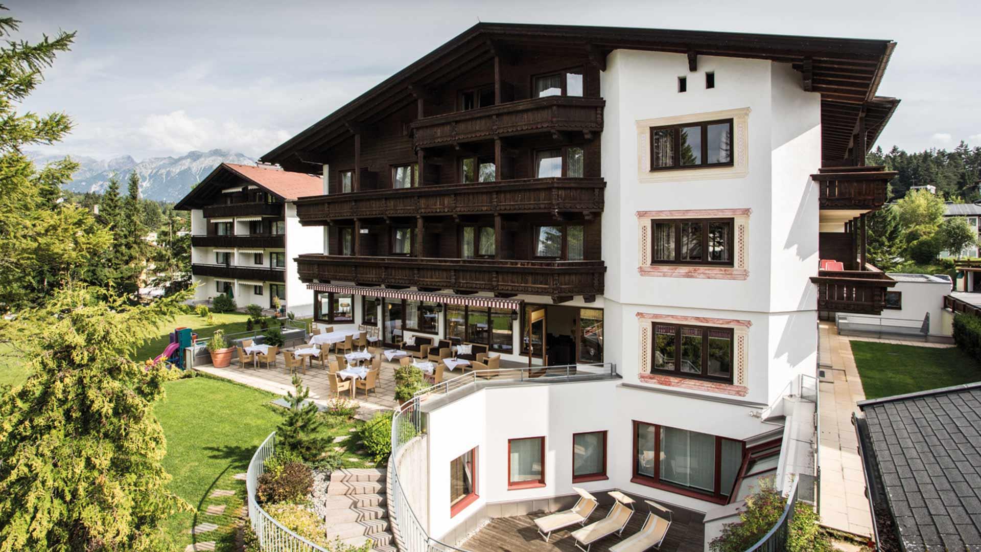 Hotel Solstein Seefeld: home sommer